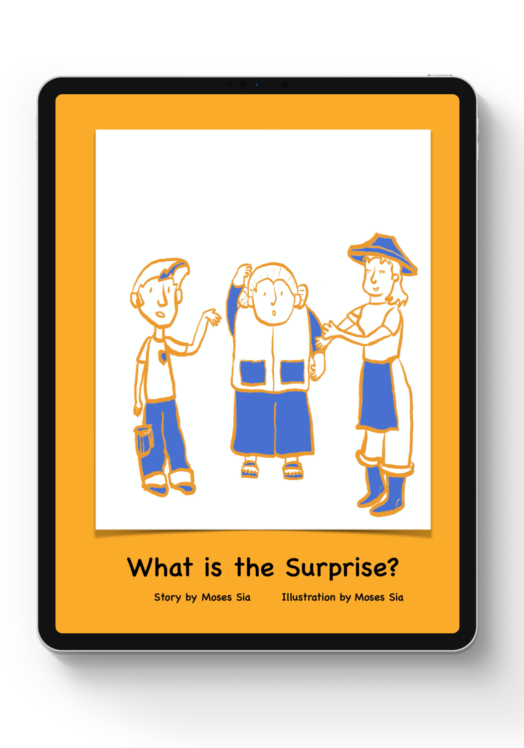 """""""What is the Surprise?""""  Story Activity Kit (DIGITAL)"""