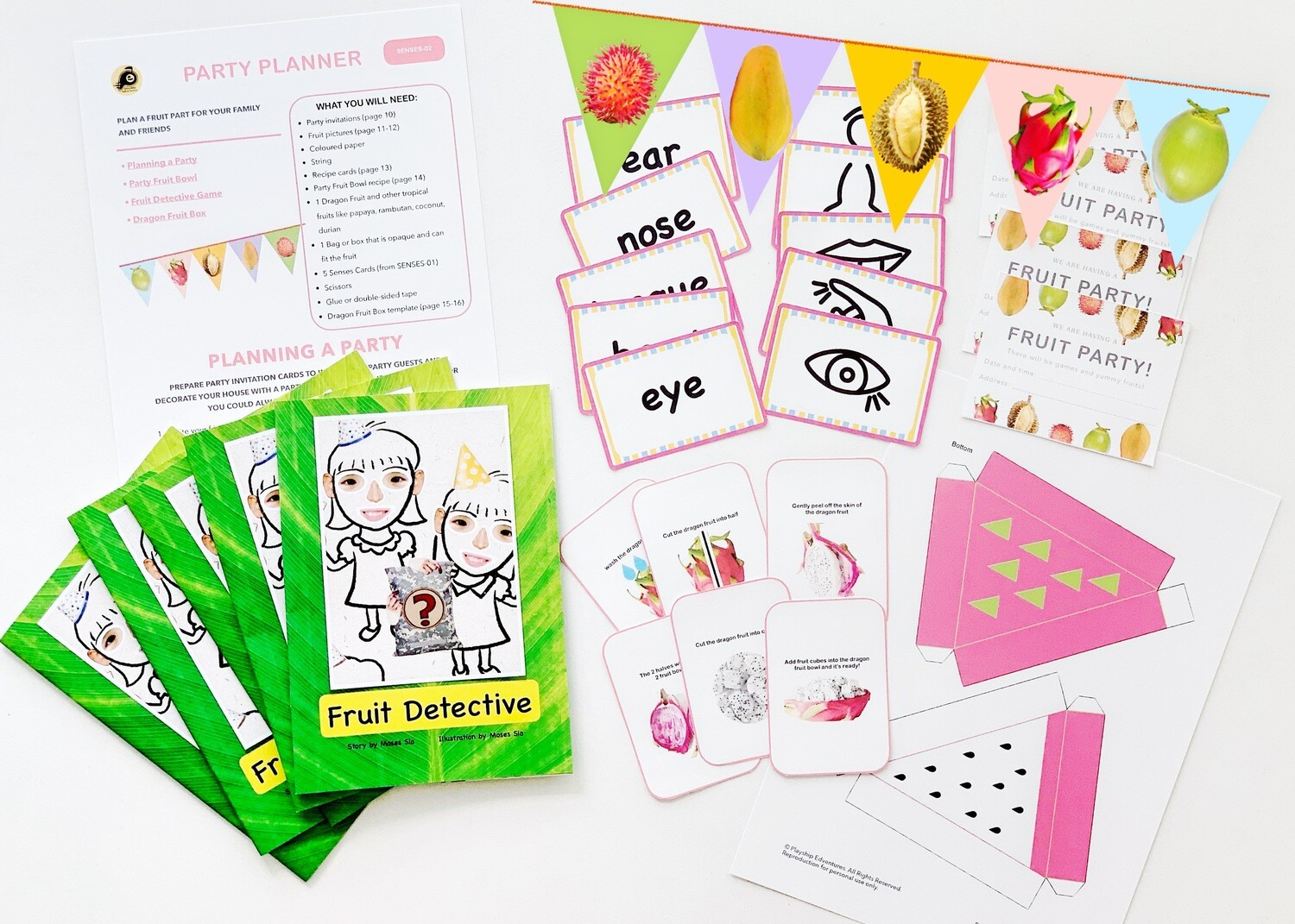 """""""Fruit Detective""""  PARTY PACK"""