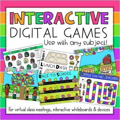 Interactive Digital Classroom Games