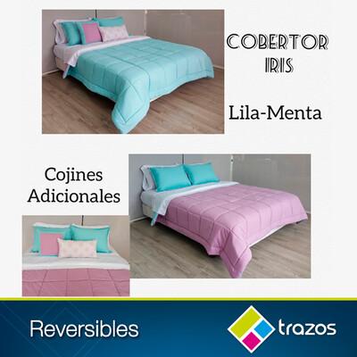 Cobertor reversible Lila