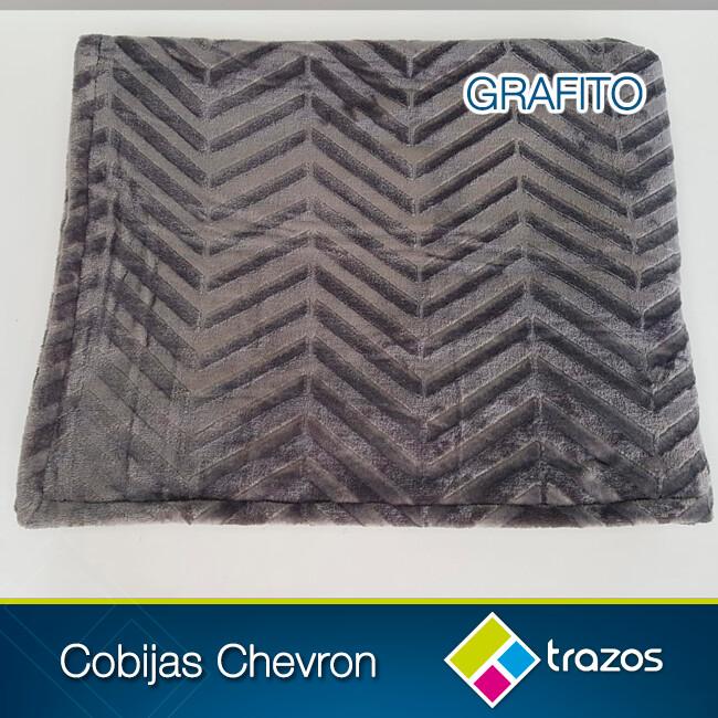 Cobija Chevron Grafito
