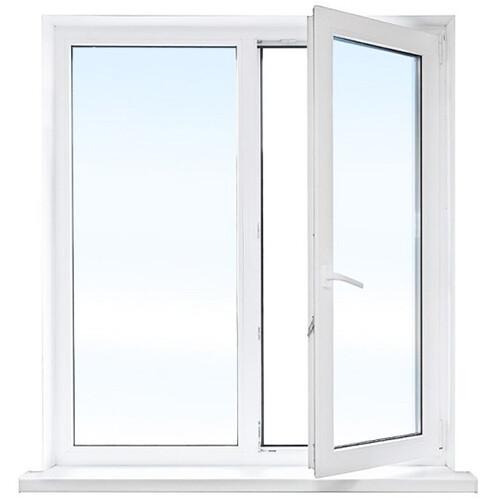Окно двухстворчатое 13-ка (кухонное)