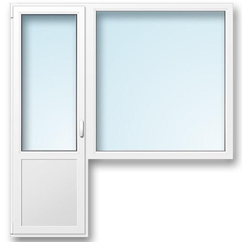 Окно с балконным выходом 9-ка