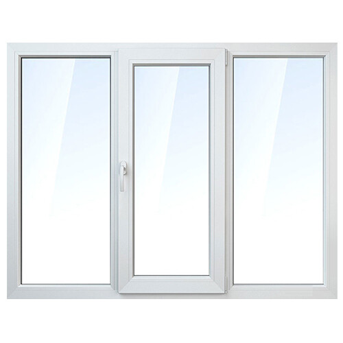 Окно трехстворчатое 21-е