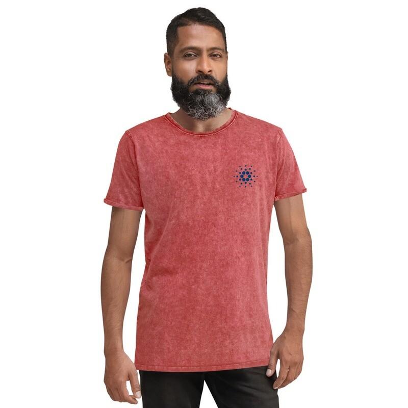 Cardano (Stitched/gestickt) Denim T-Shirt