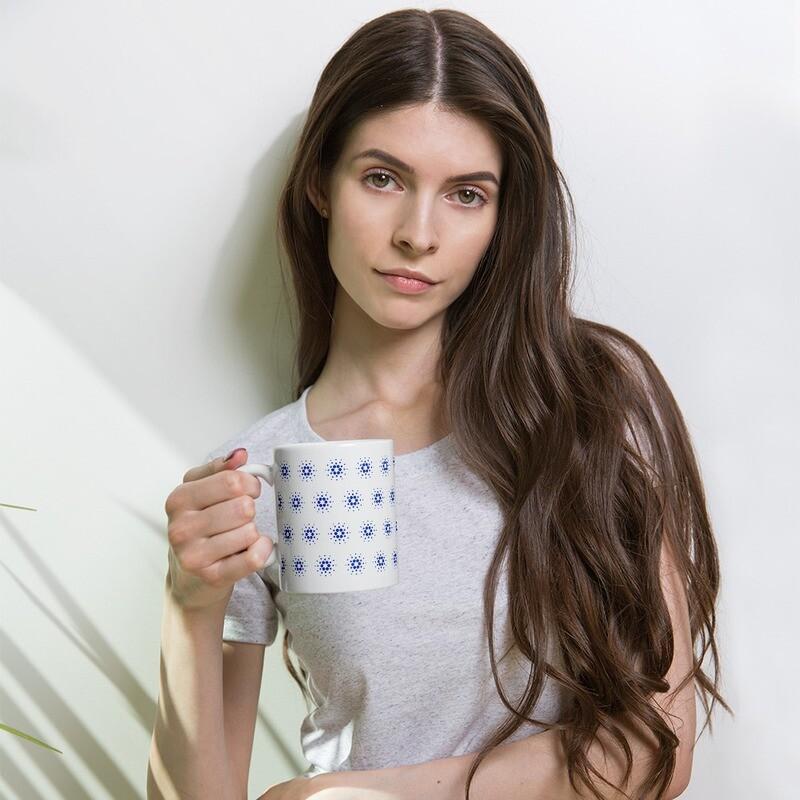 Cardano Kaffee Becher / glossy mug