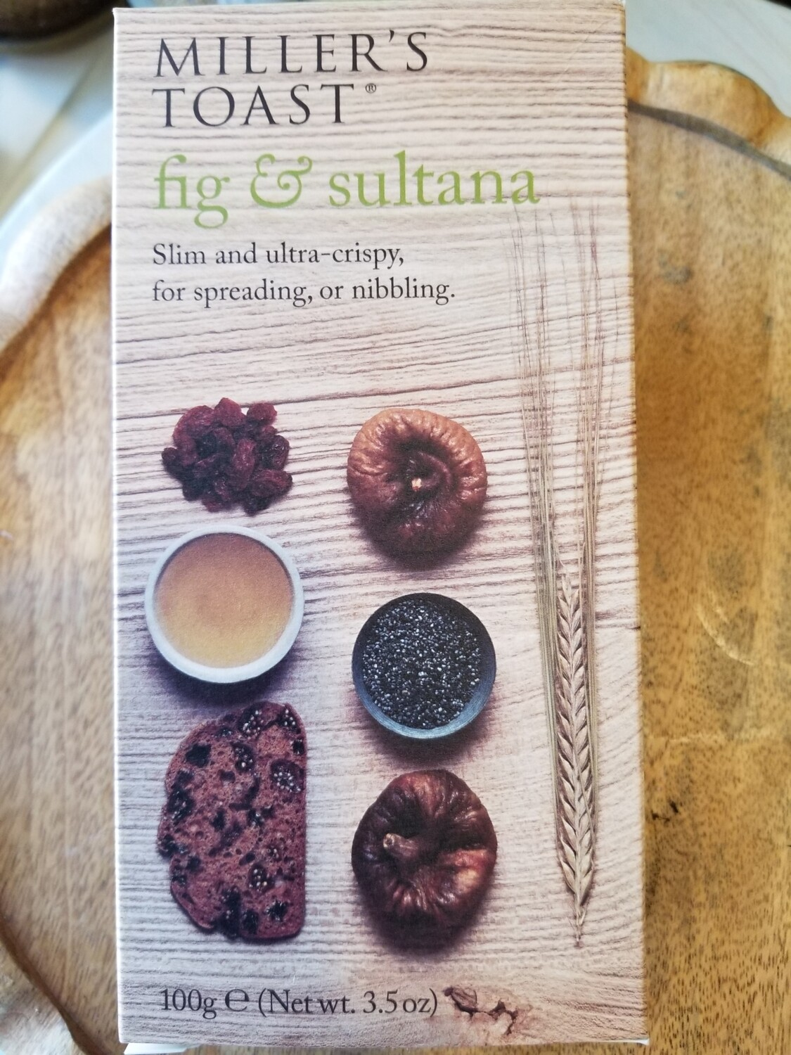 Fig & Sultana Crackers