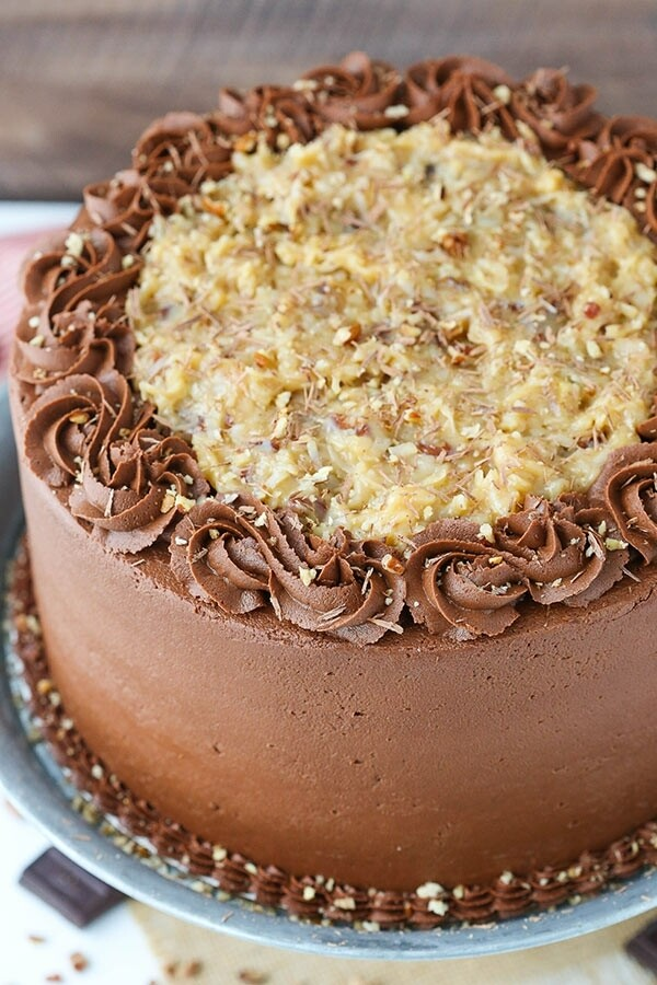 German Chocolate Cake (made to order)