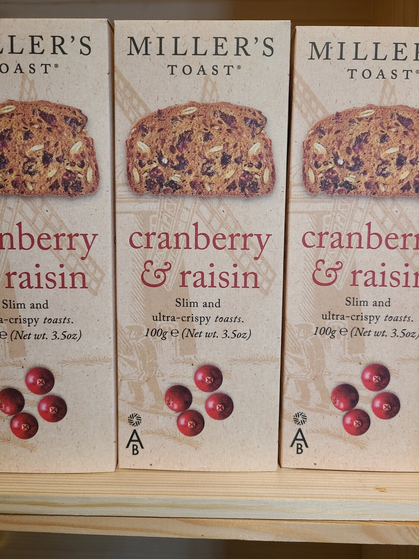 Cranberry Raisin Crackers