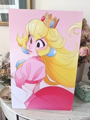 Princess Peach (11x17) DISCONTINUED