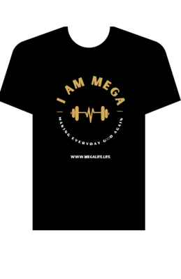 I AM MEGA Women's Black T-Shirt (COMING SOON)
