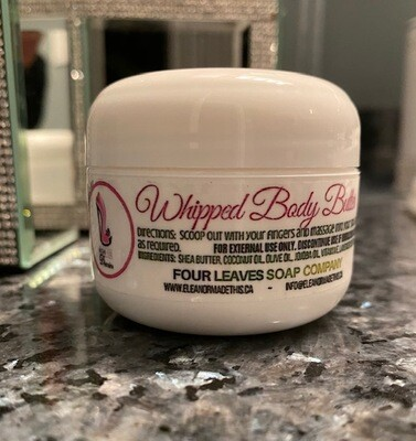 High Heal Diaries Whipped Body Butter 5 oz