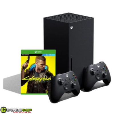 Xbox Series X Bundle with Cyberpunk 2077 + Extra Controller