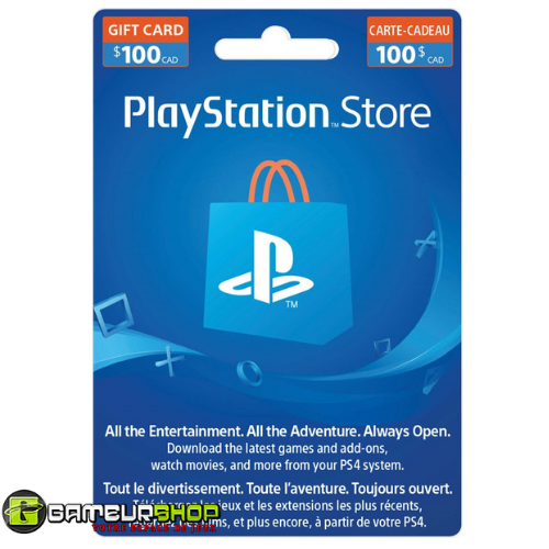 Playstation Store Gift Card $100