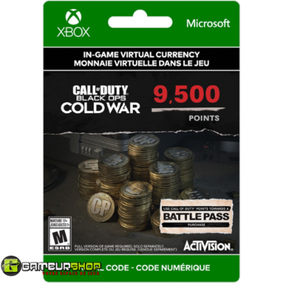 Call Of Duty: Black Ops Cold War - 9,500 Points