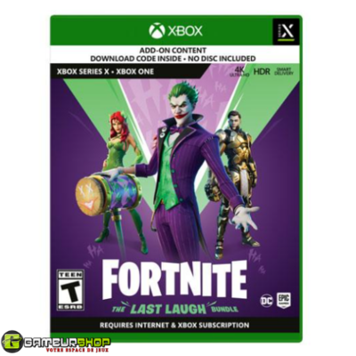 Fortnite: The Last Laugh Bundle (Xbox Series X / Xbox One)