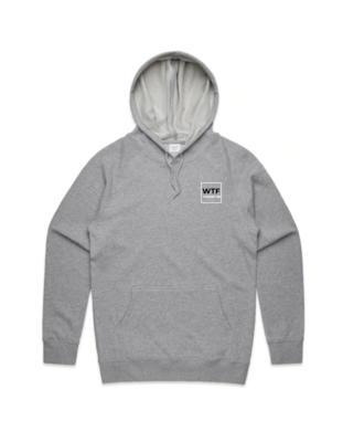 Grey Marle Unisex Hoodie