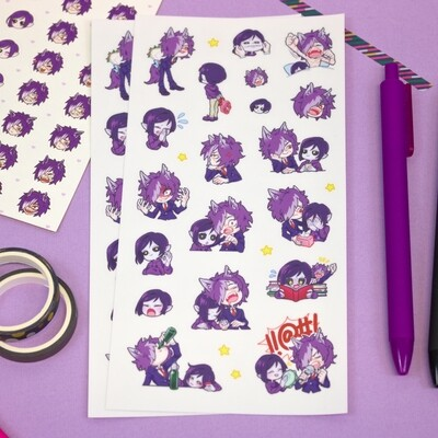 BNN & MADNESS Sticker Sheet