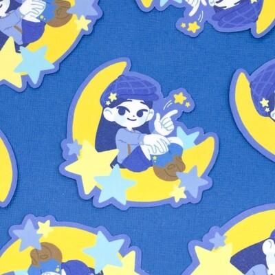 Star Child Sticker