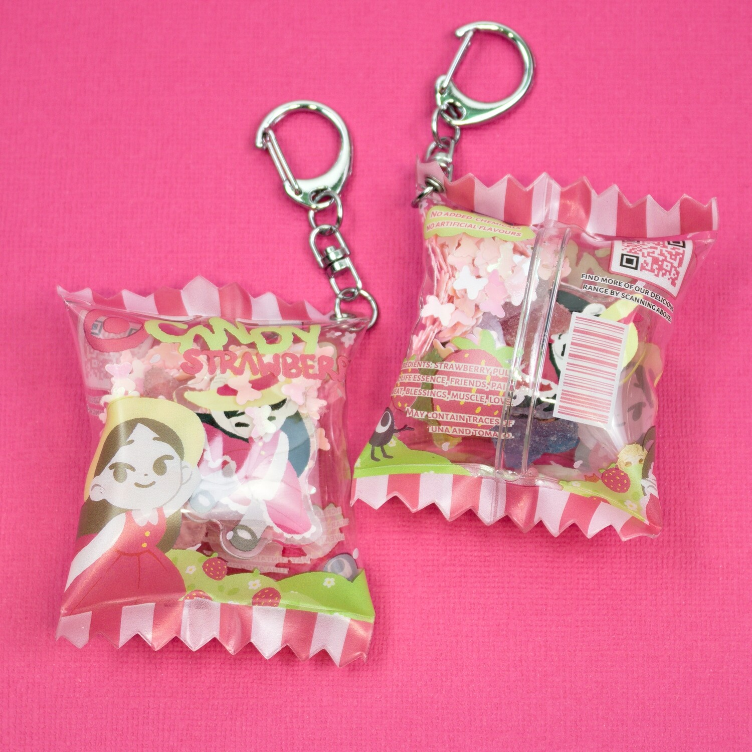 Candy Charm: Strawberry Flavour