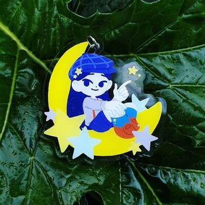 Star Child Acrylic Charm
