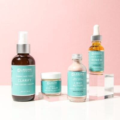 Sensitive Skin Routine