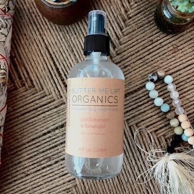 Lice Deterrent / Organic Detangler / Organic Lice Prevention