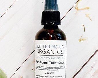 Love Potion #2 Organic Toilet Spray / Modesty Spray / Odor Spray /