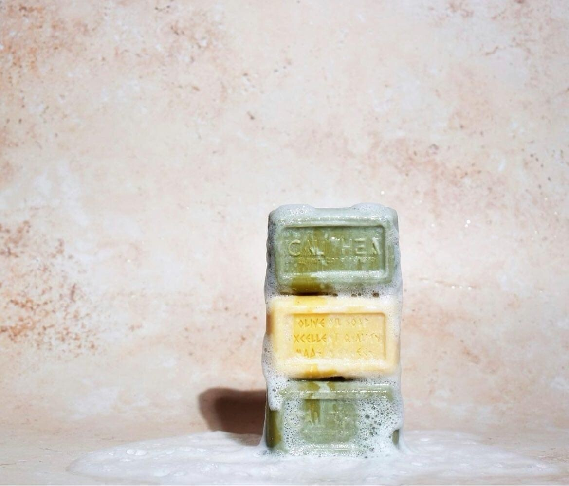CALITHEA 100% Natural, Organic Olive Oil Soap with Argan Scent