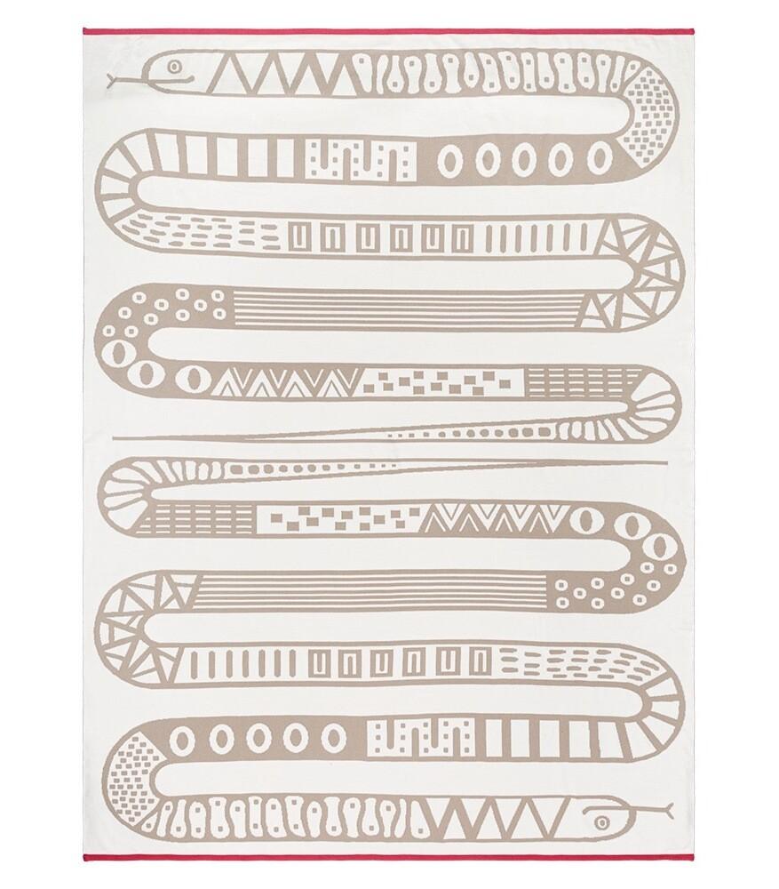 Babyfilt 140 cm x 190 cm. Snake