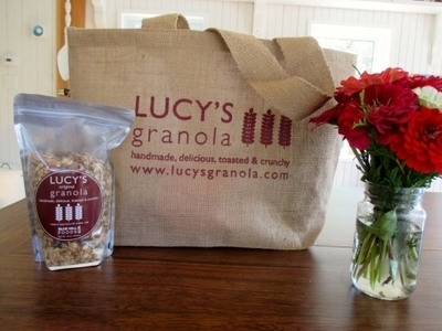 Lucy's Granola Shopping Bag