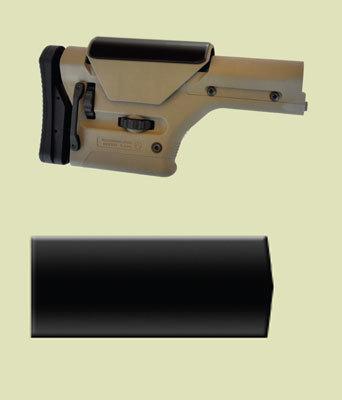 """Super Soft Cheek Pads - 3/16 inch thick - Magpul® PRS™ MPCP/PRS pad 2-3/8"""" W x 4-3/4"""" L x 3/16"""" thick"""