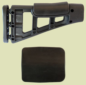 "Cheek Pad for Hi-Point Carbine Stocks -  HP-1 3-1/2"" W x 4-1/4""L x 5/16"" thick"
