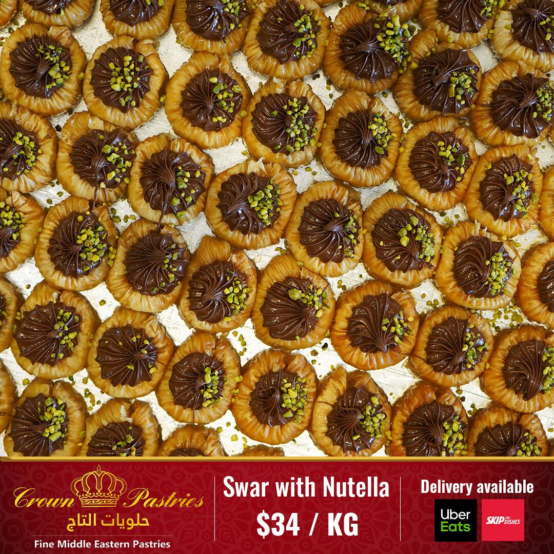 Swar with nutella (1KG)
