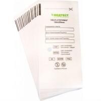 Крафт-пакеты для стерилизации 100*200 белая влагопрочная бумага СтериМаг, 100 шт.