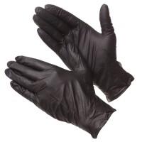 Перчатки нитриловые Deltagrip черные XL, 100 шт.