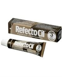 Краска для бровей и ресниц RefectoCil №3 натурально-коричневая 15 мл.