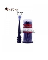Микробраши Neicha 3 мм черные, 100 шт.