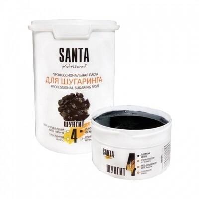 Сахарная паста плотная шунгит Santa Professional, 600 гр.