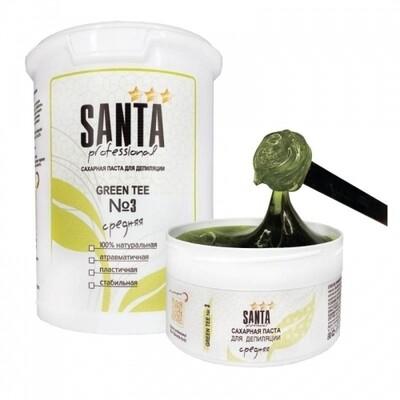 Сахарная паста плотная Green tee Santa Professional, 600 гр.