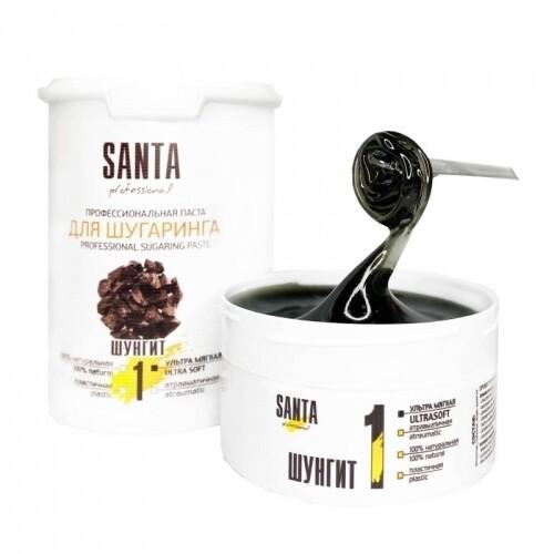 Сахарная паста ультрамягкая шунгит Santa Professional, 1700 гр.