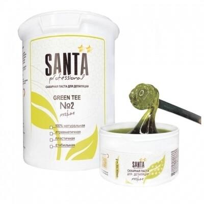 Сахарная паста мягкая Green tee Santa Professional, 1700 гр.