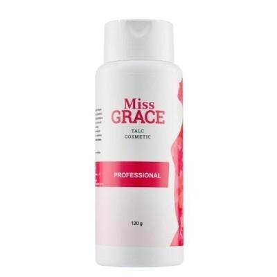 Тальк косметический для депиляции Miss Grace, 120 гр.