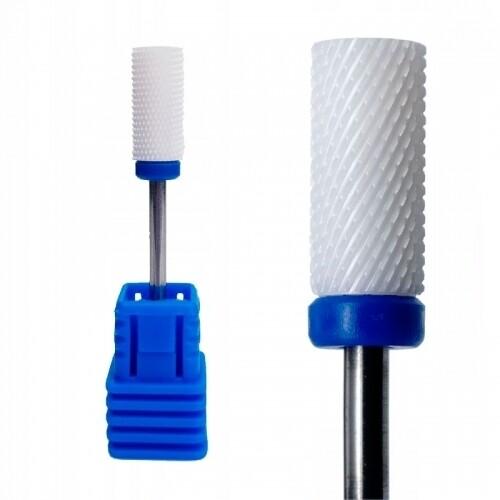 Фреза керамика цилиндр 5 мм. (синяя)