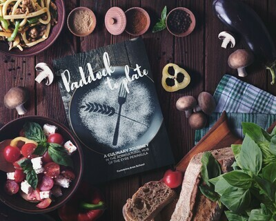 PRE-ORDER Paddock To Plate Recipe Book (Softcover)
