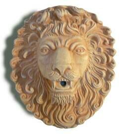 Maschera leone - Löwenkopf