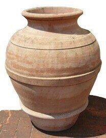 Orcio 50 - Terracotta-Ölfass