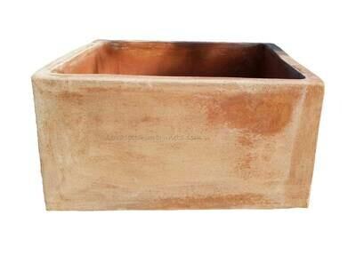 Fiorita quadra - Quadratischer Terracottakasten