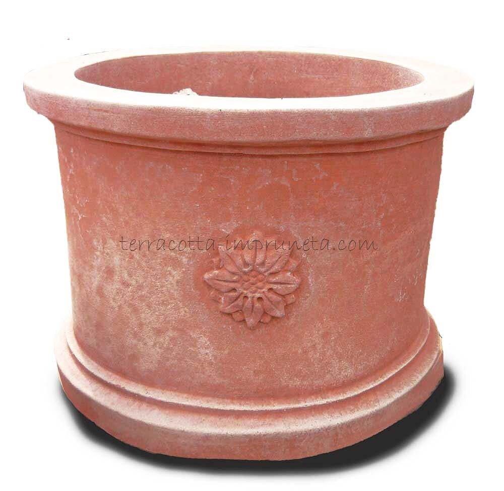 Cilindro tre rose - Zylinder mit Rosetten