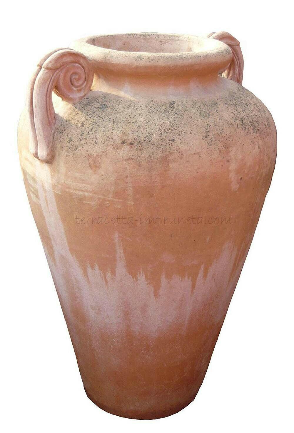 Anfora bombata con manici - Terracotta-Amphore mit Henkel